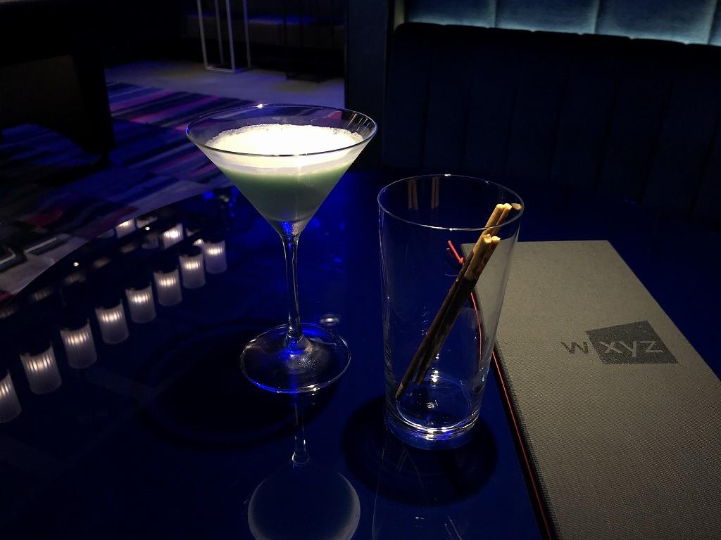 アロフト東京銀座の「W XYZ Bar」のわさびドラムスティック
