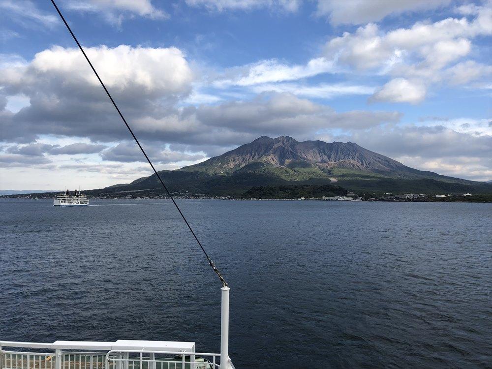 桜島の山肌1