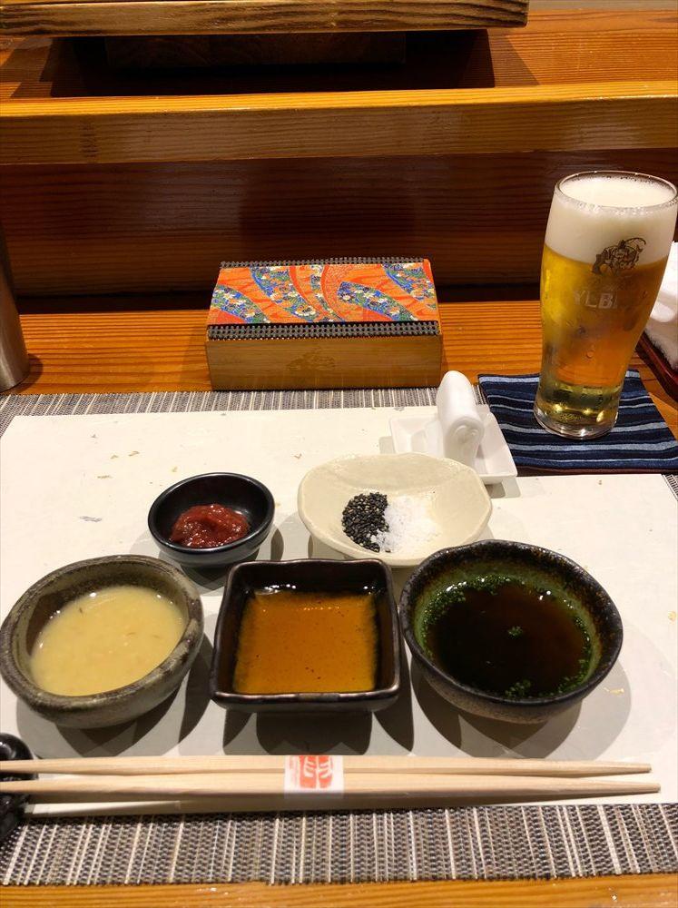 鮨匠のむらの調味料セット