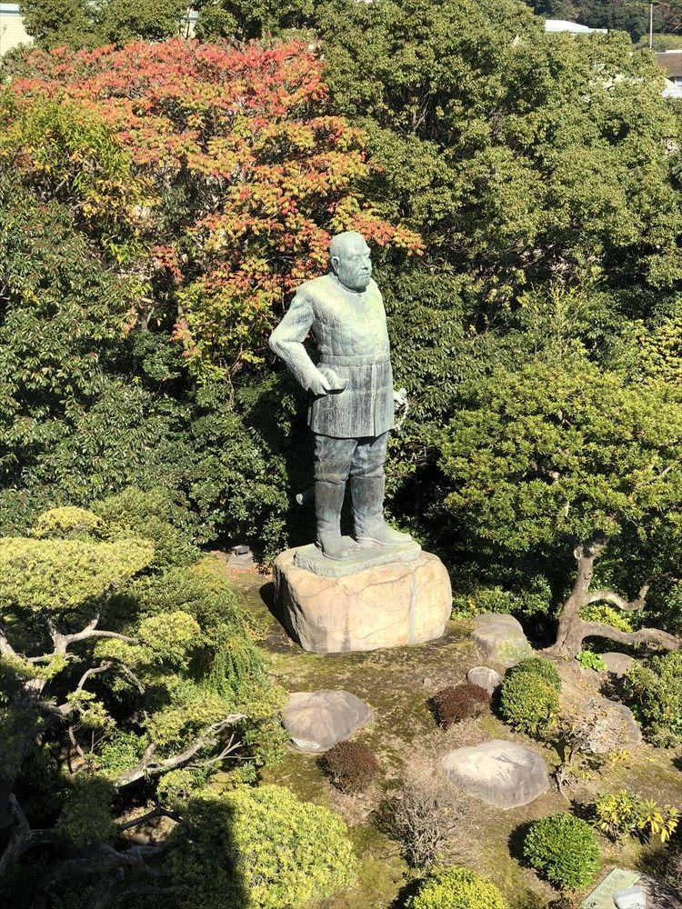 K10カフェから西郷銅像