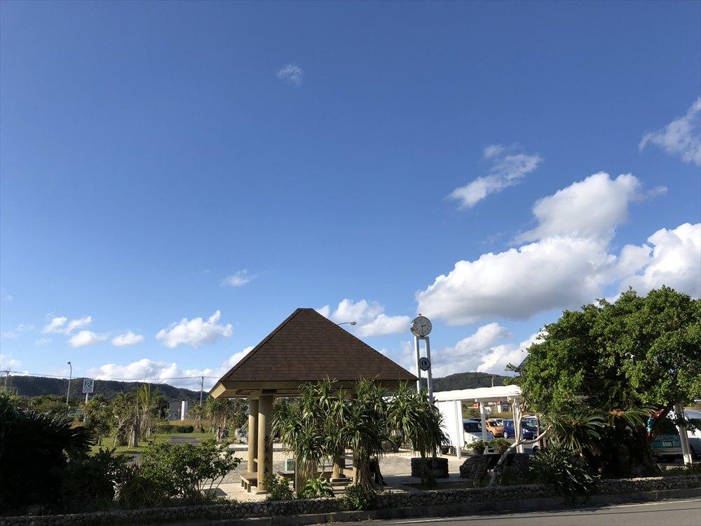 奄美の青い空