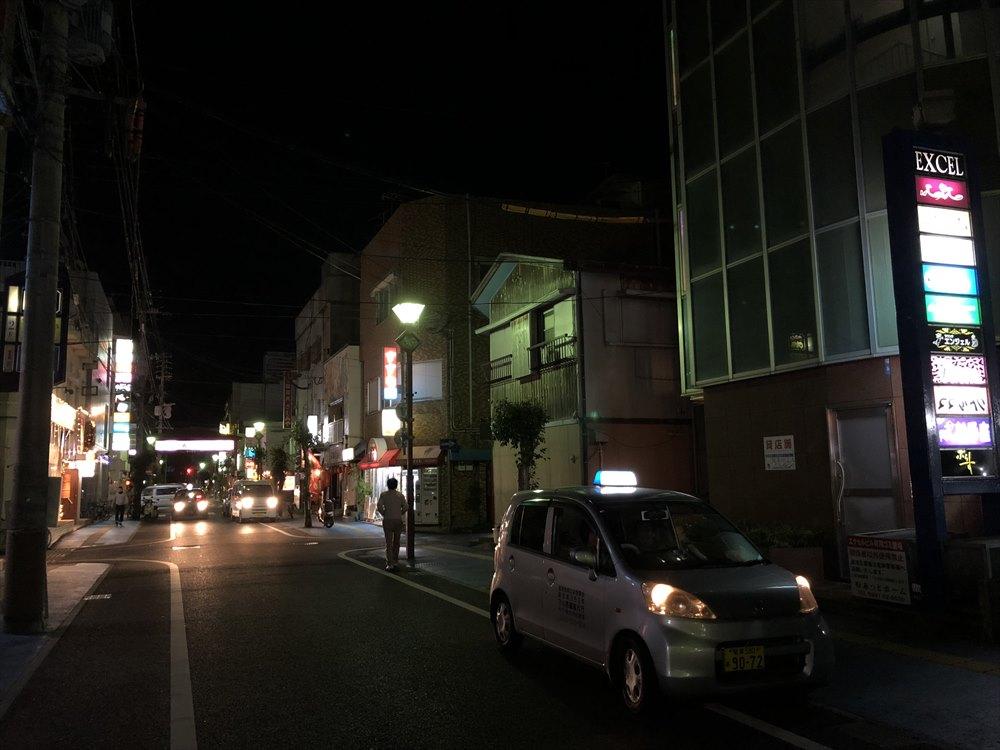 奄美大島の繁華街