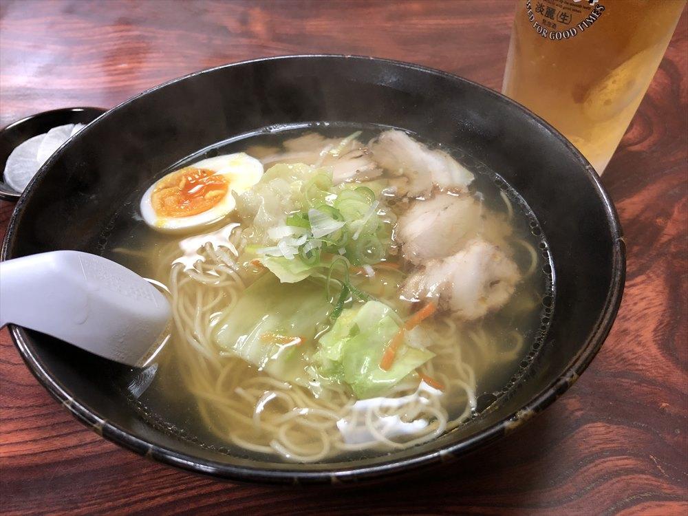 一番軒屋仁川店の塩ラーメン