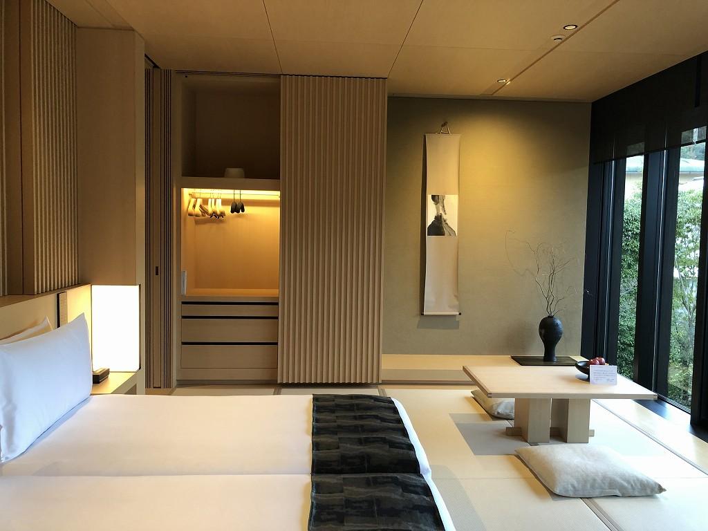 アマン京都の「芒」棟のリビング3