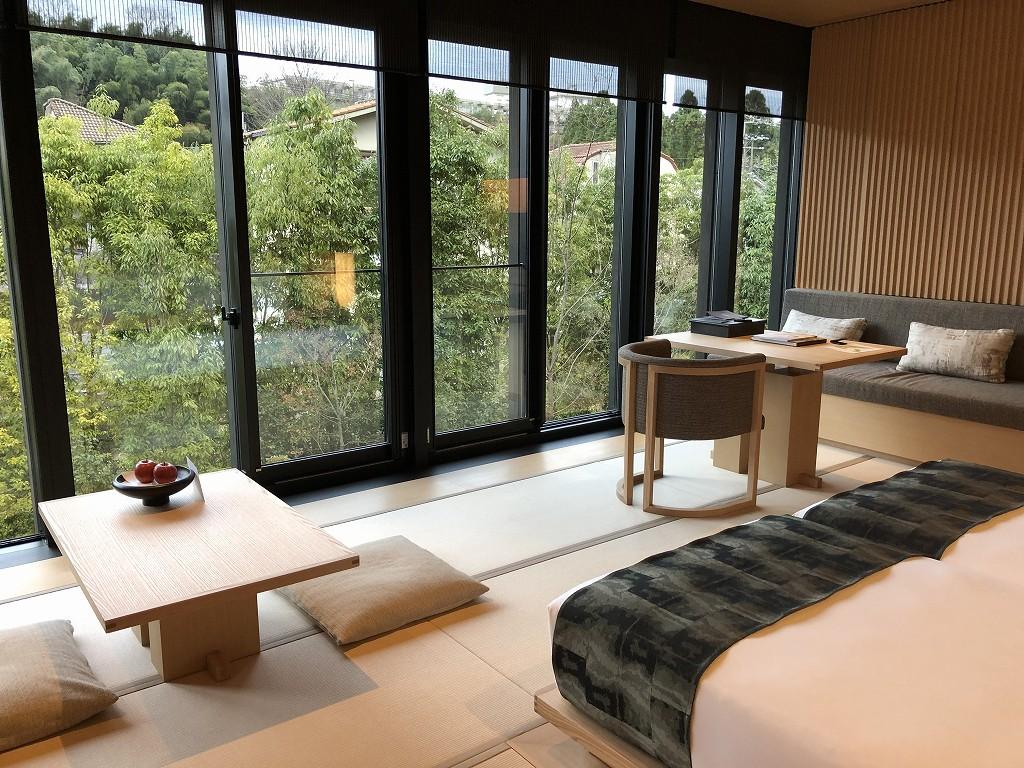 アマン京都の「芒」棟のリビング6