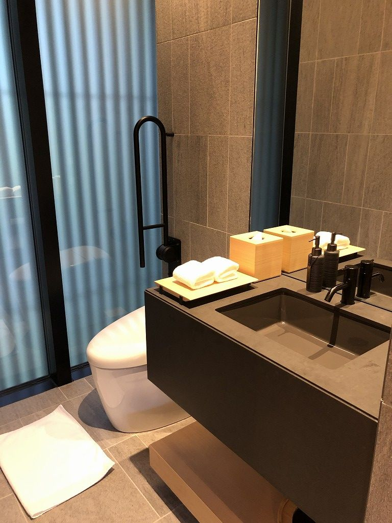 アマン京都の「芒」のトイレ
