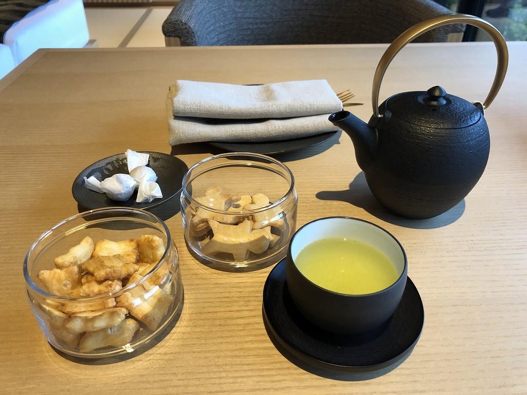アマン京都の「芒」の緑茶