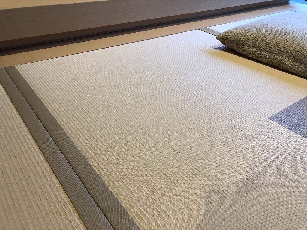 アマン京都の「芒」棟のリビングの畳