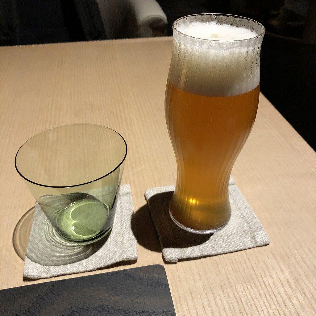 アマン京都のザ・リビング パビリオン by アマンのビール