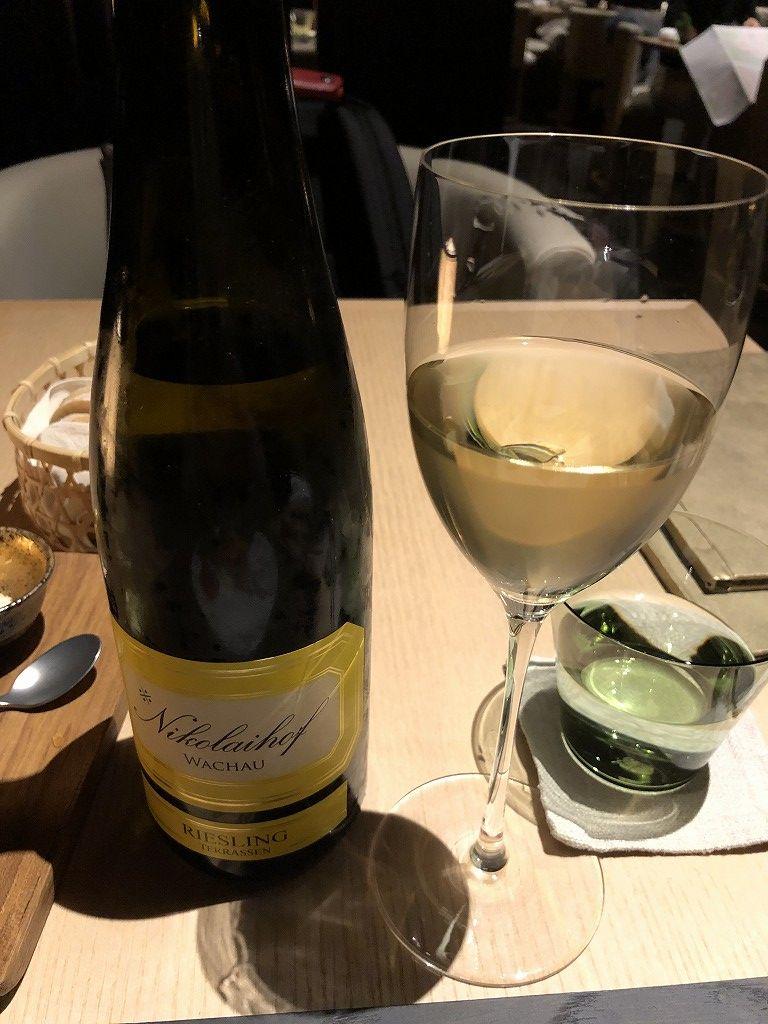 アマン京都のザ・リビング パビリオン by アマンの白ワイン