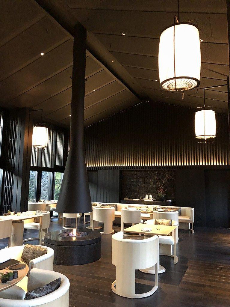アマン京都のザ・リビング パビリオン by アマンの内観1