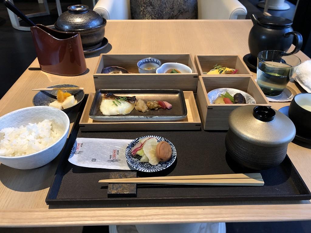 アマン京都のザ・リビング パビリオン by アマンの朝食2