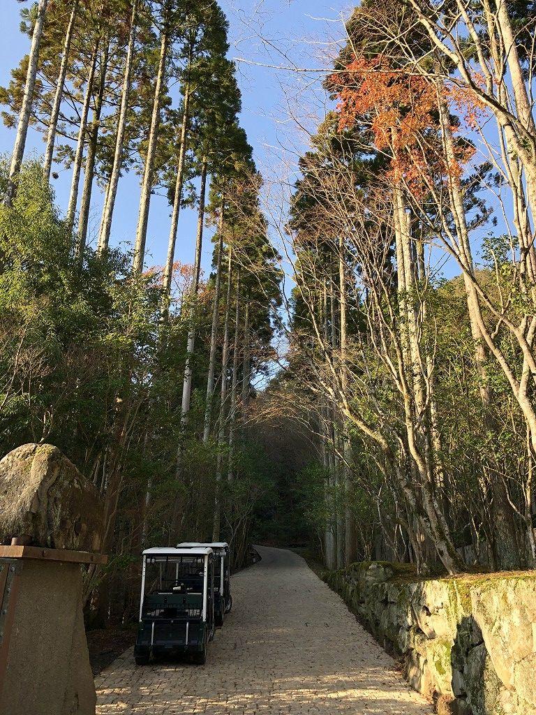 アマン京都の天ヶ峰への散策路1