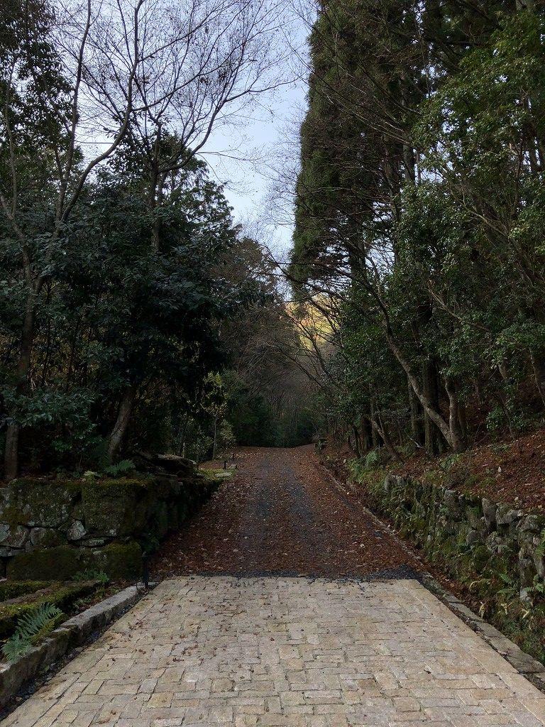 アマン京都の天ヶ峰への散策路3