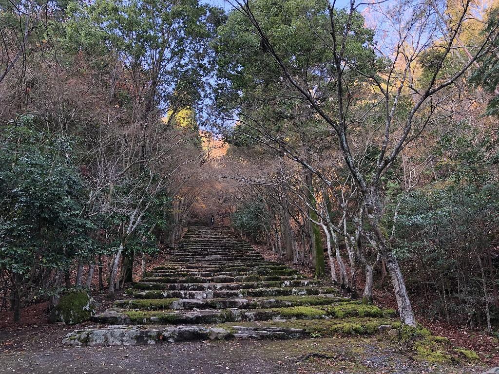 アマン京都の天ヶ峰への散策路4