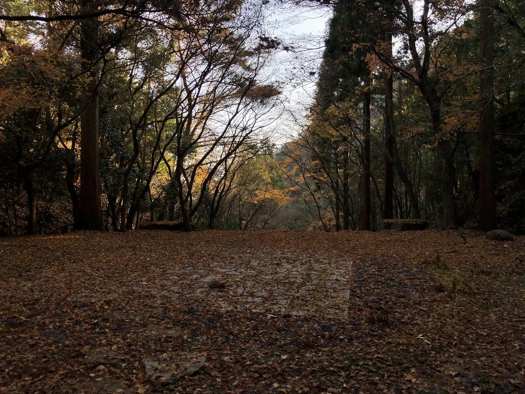 アマン京都の天ヶ峰への散策路8