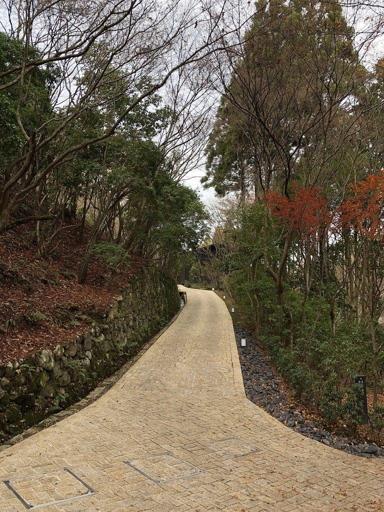 アマン京都の鷹ヶ峯パヴィリオン、鷲ヶ峰パヴィリオンの通路1