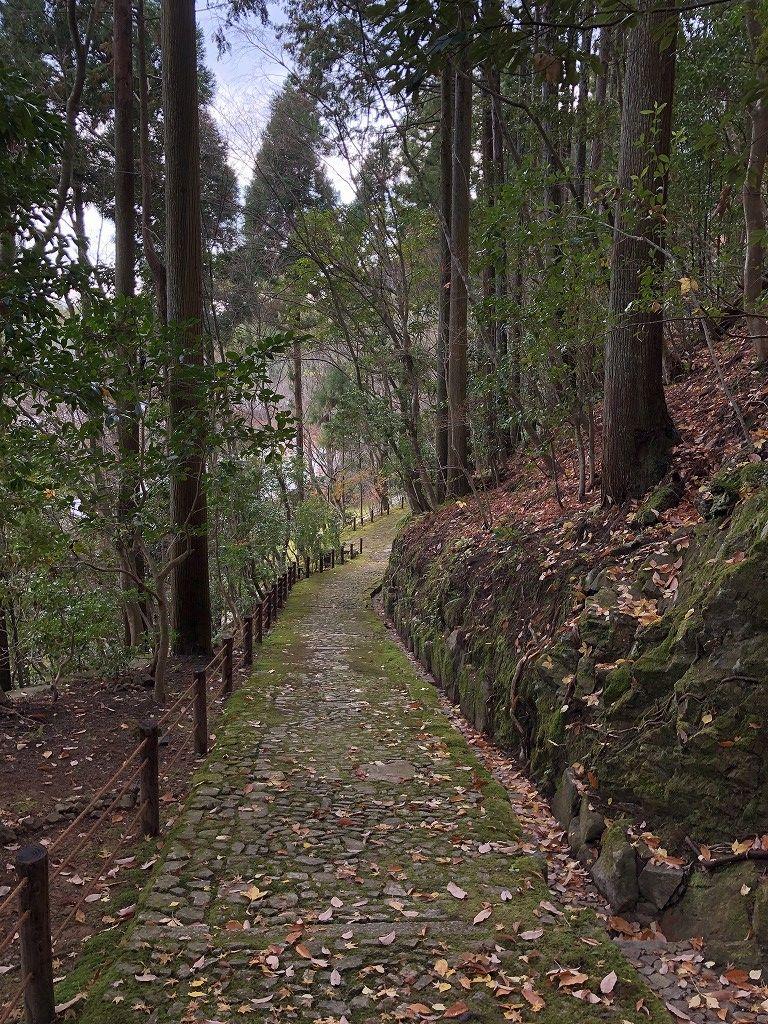 アマン京都のZENスペースからの下り道1