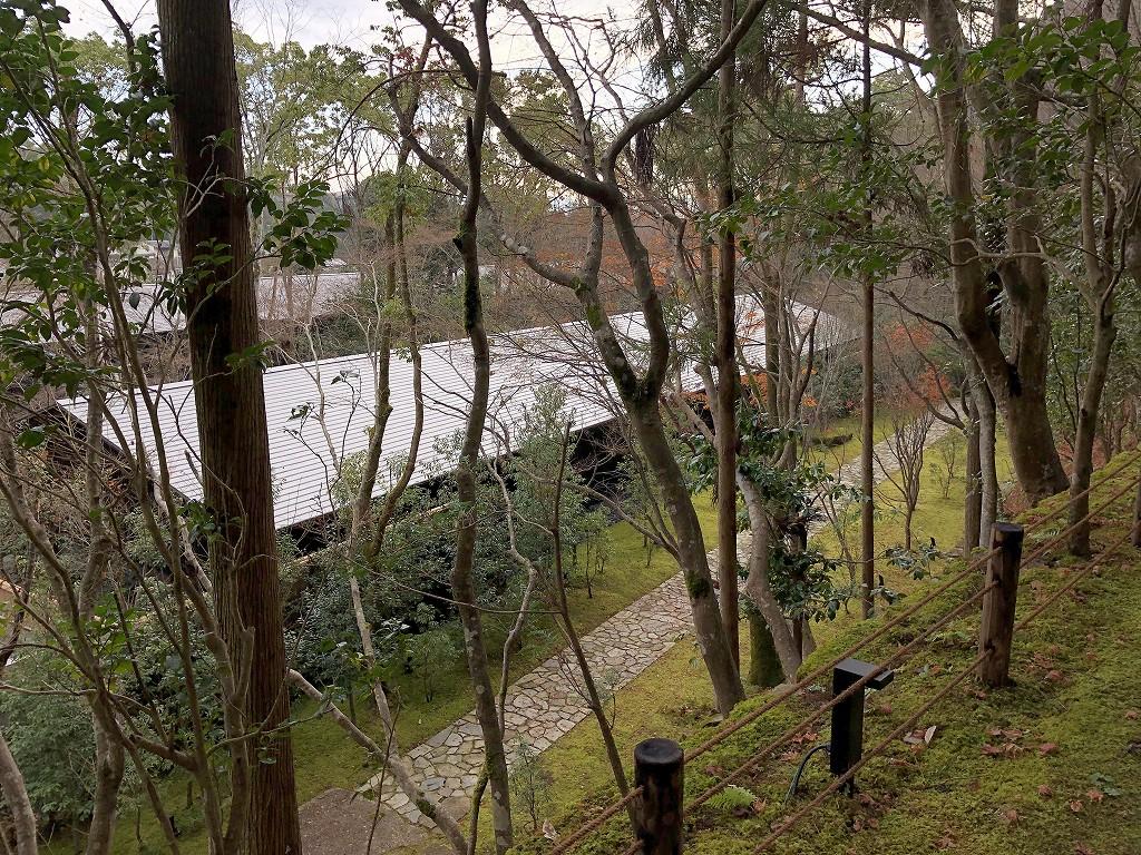 アマン京都のZENスペースからの下り道2