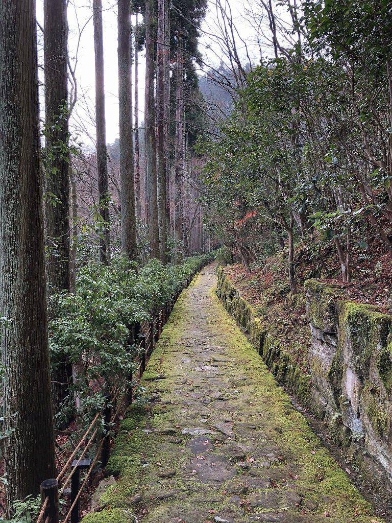 アマン京都のZENスペースからの下り道4