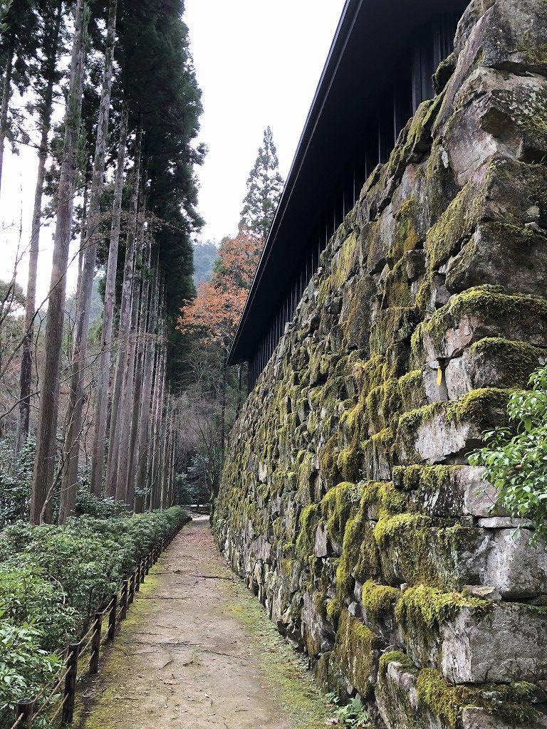 アマン京都のZENスペースからの下り道5