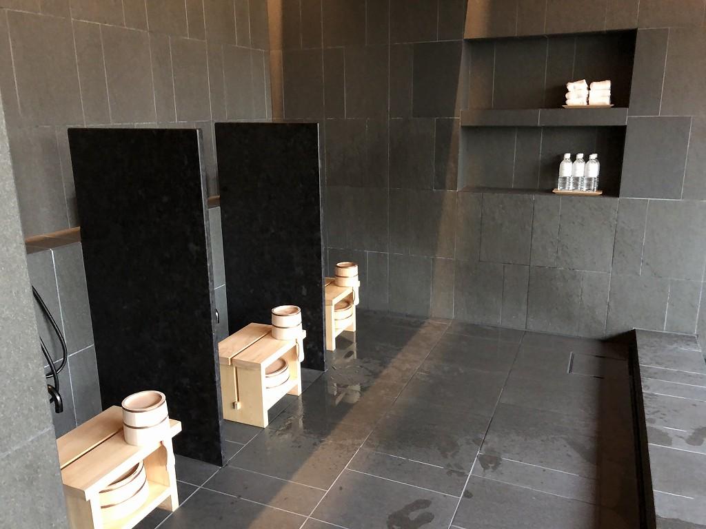 アマン京都のアマンスパ(朝)の内風呂3