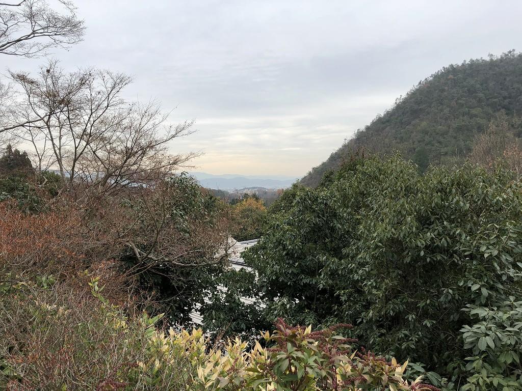 光悦寺から京都市内方向1