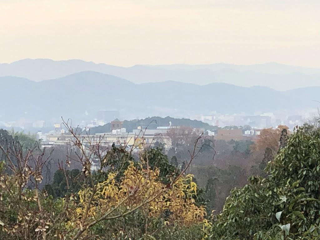 光悦寺から京都市内方向2