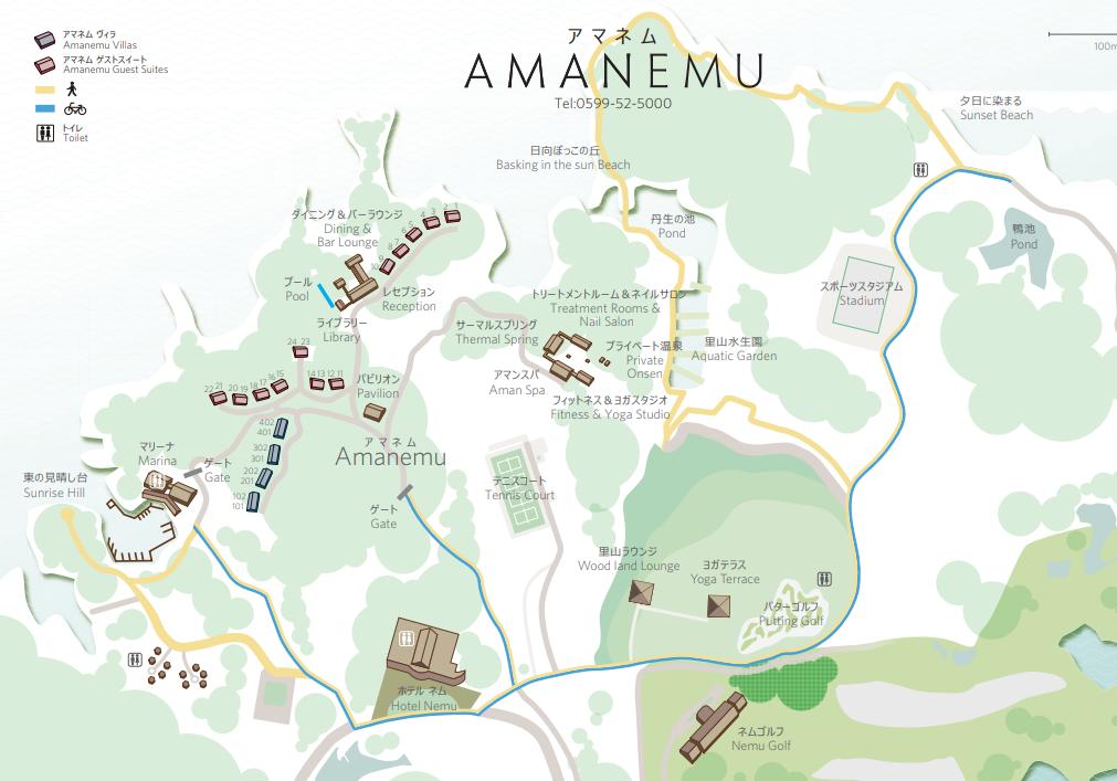 アマネムのマップ2