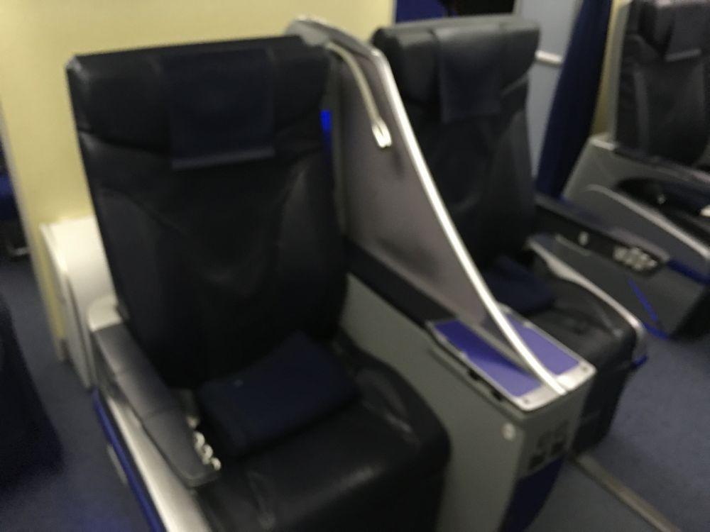 ANA598便の2Gの座席