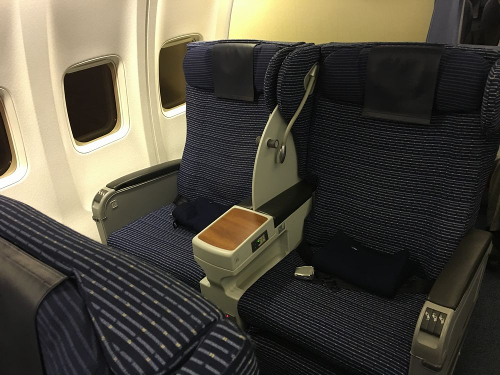 ANA618便の2Kの座席