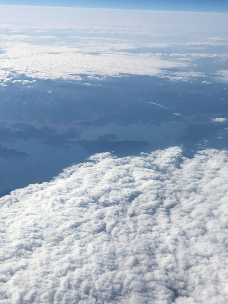 ANA861便(羽田-ソウル金浦)から見た若狭湾