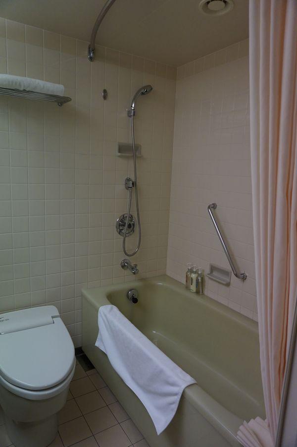 ANAクラウンプラザホテル稚内バスルーム画像