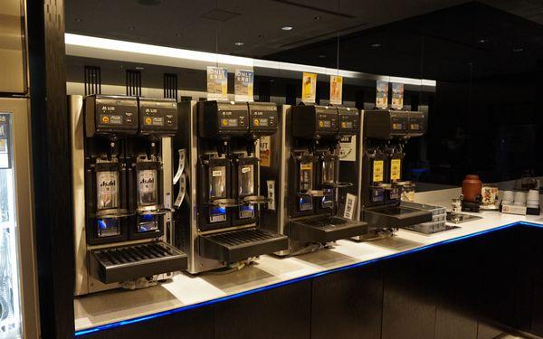 新千歳空港ANAラウンジサッポロクラシックビールサーバー画像