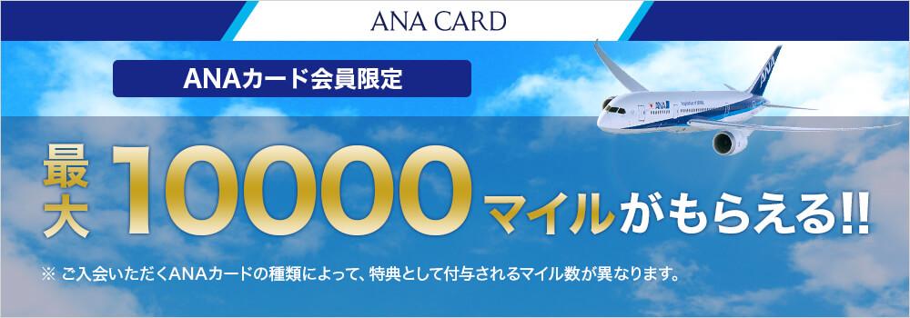 三井住友カード主催のANA VISAカードのキャンペーン