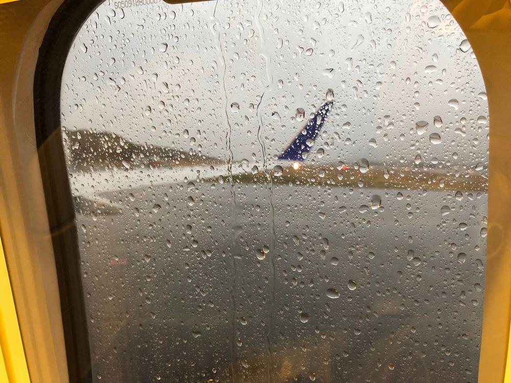 ANA1896便の窓から