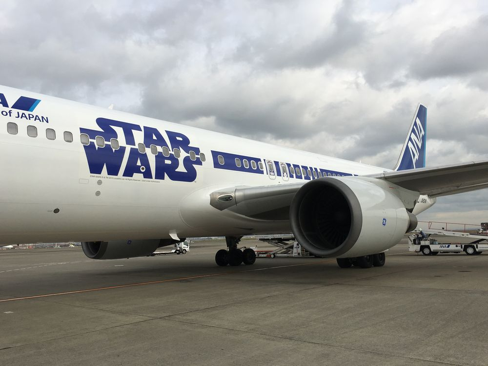 ANA STAR WARS JETの533便