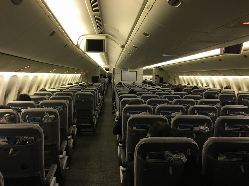 ANA540便のシート配列