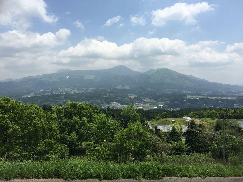 阿蘇五岳画像