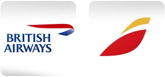 ブリティッシュ・エアウェイズとイベリア航空のロゴ