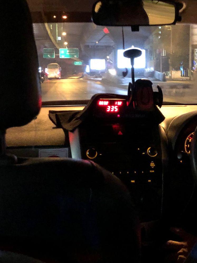バンコクのぼったくりタクシー