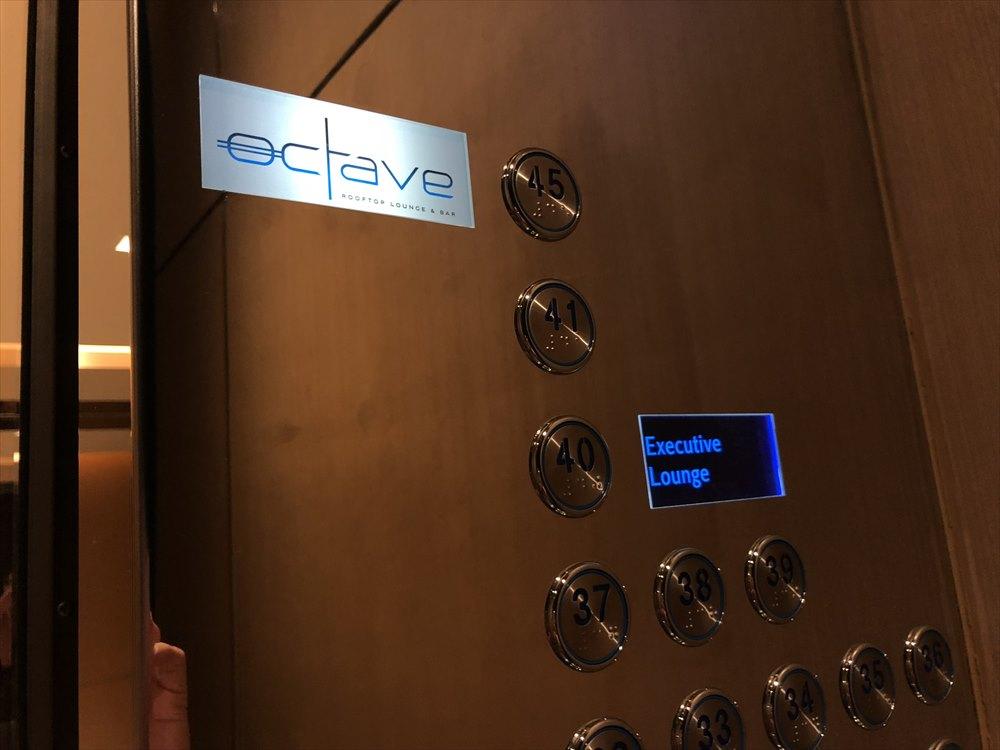 バンコクマリオットホテルスクンビットのエレベーター