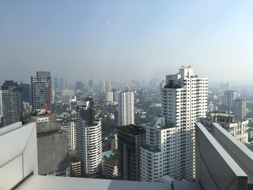 バンコクマリオットホテルスクンビットからの眺め