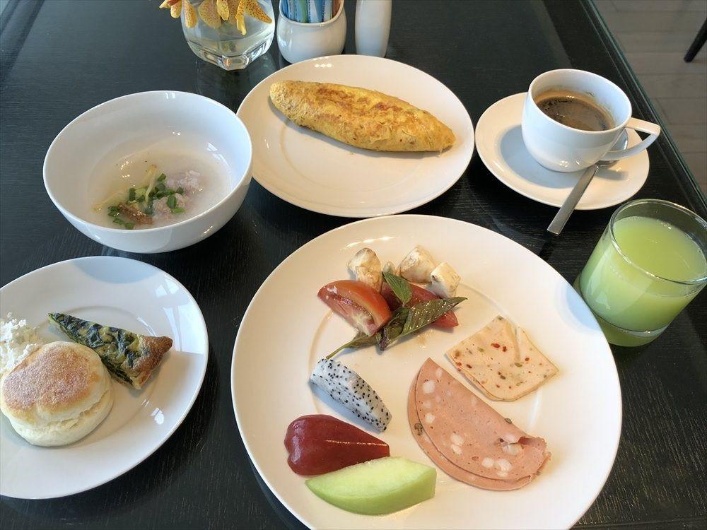 バンコクマリオットホテルスクンビットの朝食(1日目)