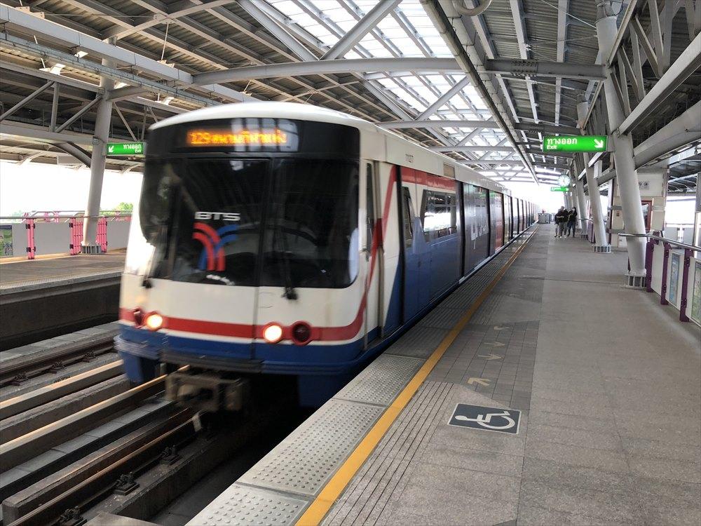 BTSの電車1