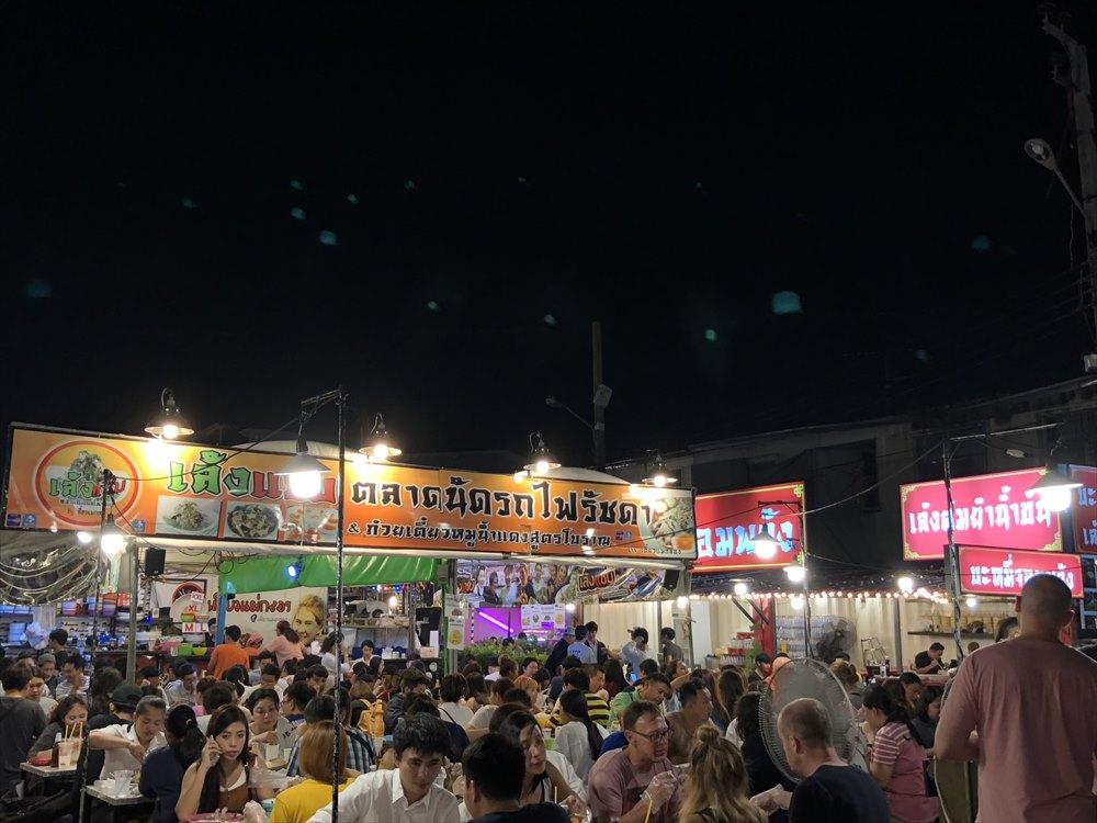 ラチャダー鉄道市場8