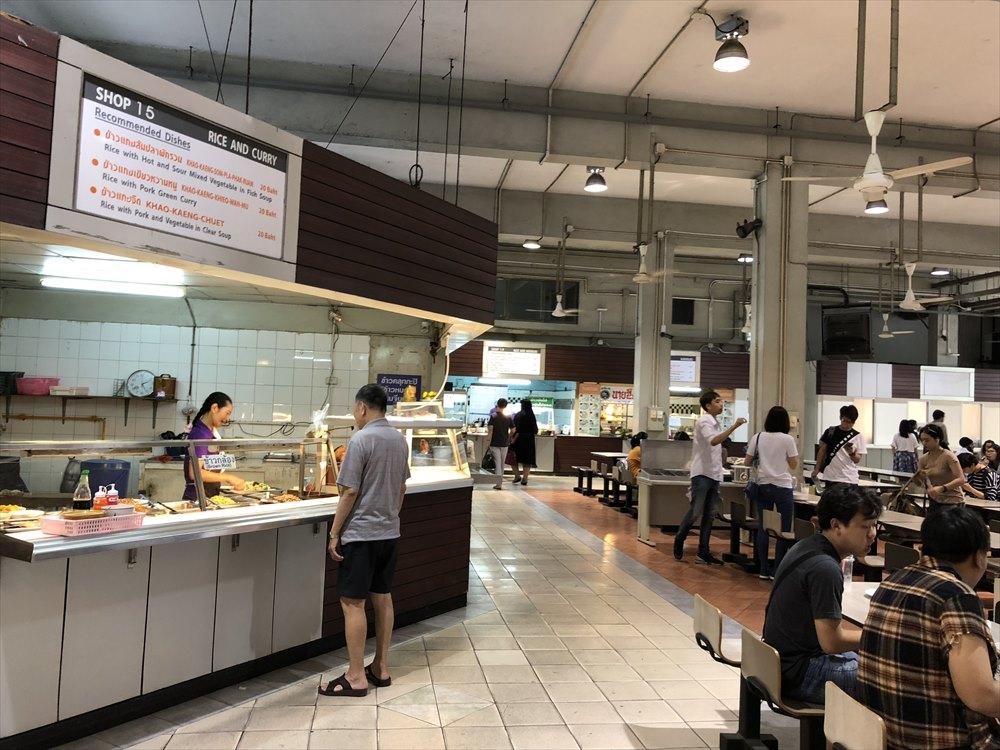 バンコク大学の食堂2