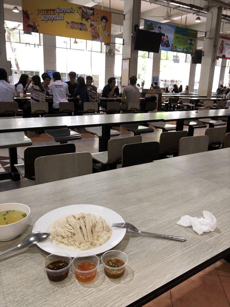 バンコク大学のカオマンガイ3