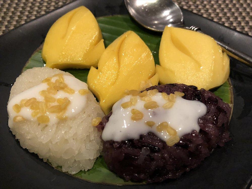 RUEN URAIのもち米のデザート