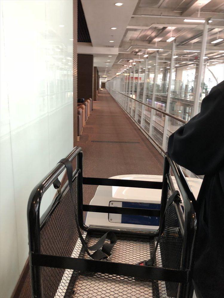 スワンナプーム国際空港のカート